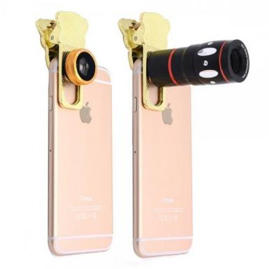4 in 1 Universal Clamp Camera Lens - 30% Off
