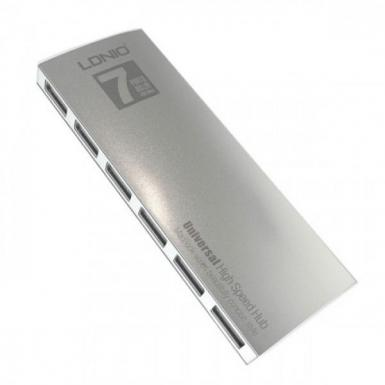 LDNIO DL-H7 Universal 7-Port 480Mbps High Speed USB Hub