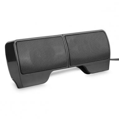 USB Powered Stereo Speaker Soundbar for Laptop