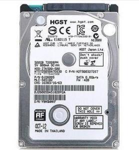 HGST TRAVELSTAR Z5K500 500GB INTERNAL 5400RPM 2.5″ HDD