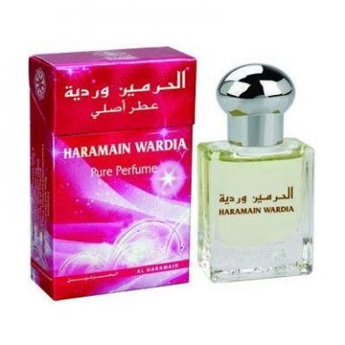 Wardia Al Haramain Pure Perfume (Attar, 15ml, AHP1644)