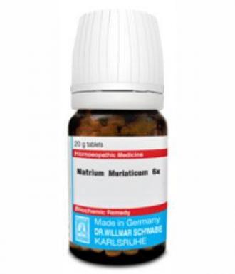 Natrium Muriaticum 6X - তরল ব্যালেন্স, ম্যালেরিয়া, লিভার সম্পর্কিত