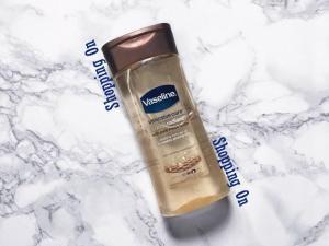 Vaseline Intensive Care Cocoa Radiant Body Gel Oil 200ml (From UK)