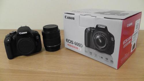 Canon 600d with 18-55 mm Kit