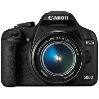 Canon EOS 500D EF-S 18-55mm f/3.5-f/5.6 IS Kit Lens