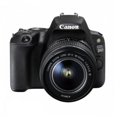 Canon EOS 200D 24.2 MP 18-55mm IS III Lens DSLR Camera