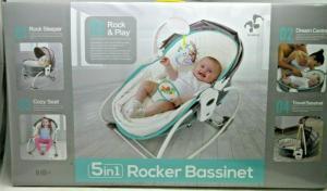 5-in-1 Rocker Bassinet
