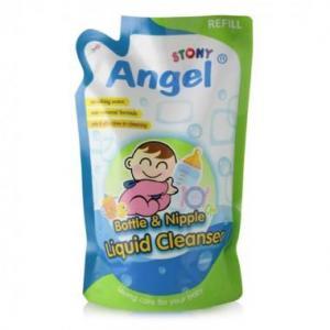 Angel Stony Bottle & Nipple Liquid Cleanser Refill Pack