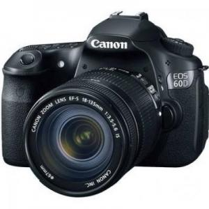 Canon EOS 60D 18.0MP With 18-55MM Lens DSLR Camera