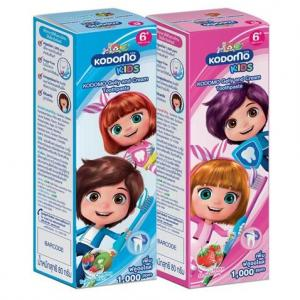 Kodomo Toothpaste Gel and Cream