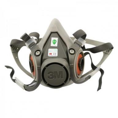 3M6200 gas mask anti-formaldehyde anti-organic gas anti-chemical spray paint 3M anti-virus dustproof half mask