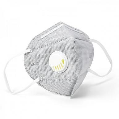 Jinjiang kn95 mask with breathing valve dust mask six-layer