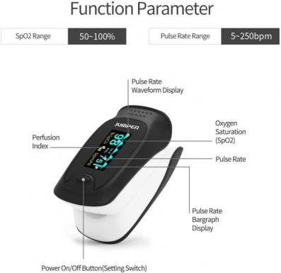 Jumper Pulse Oximeter (JPD-500D OLED)