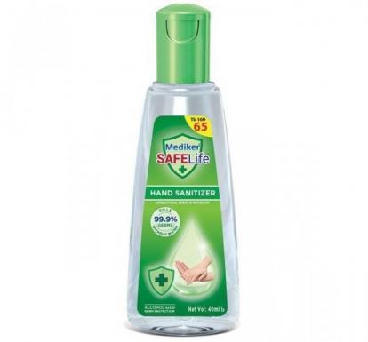 Mediker SafeLife Hand Sanitizer 40ml