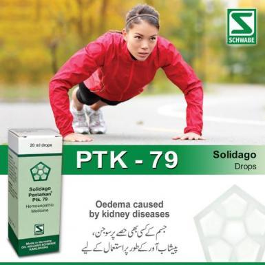Solidago Pentarkan® Ptk. 79 - Oedema caused by kidney diseases