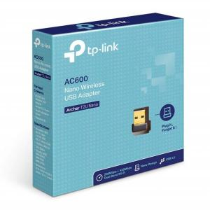 TP-Link Archer T2U Nano AC600 Wireless USB Adapter