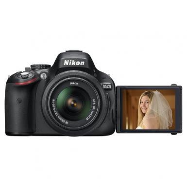 Nikon D5100 DSLR Camera with 18-55mm Lens