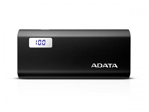 A Data P12500D Black Power Bank 2500mAH
