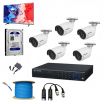 5 SET HD CAMERA FULL PACKAGE + FREE MONITOR + FREE SETUP