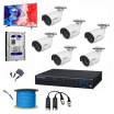 6 SET HD CAMERA FULL PACKAGE + FREE MONITOR + FREE SETUP