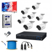 7 SET HD CAMERA FULL PACKAGE + FREE MONITOR + FREE SETUP
