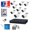 9 SET HD CAMERA FULL PACKAGE + FREE MONITOR + FREE SETUP