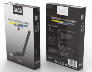Alfa UW07 300mbps USB Wireless n Adapter