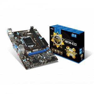 MSI H81M-E33 DDR3 4th Gen.LGA 1150 Socket Mainboard (HDMI)