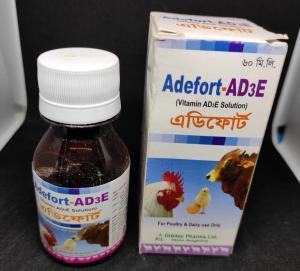 Adefort-AD3E (Vitamin AD3E Solution) 60ml