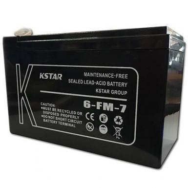 KSTAR 12V 7.5 Amp DC Current UPS Battery