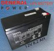 General Power 12V 8.2Ah UPS Battery