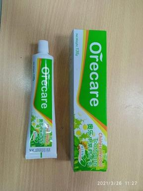 Tiens orecare chanese harbal tooth paste